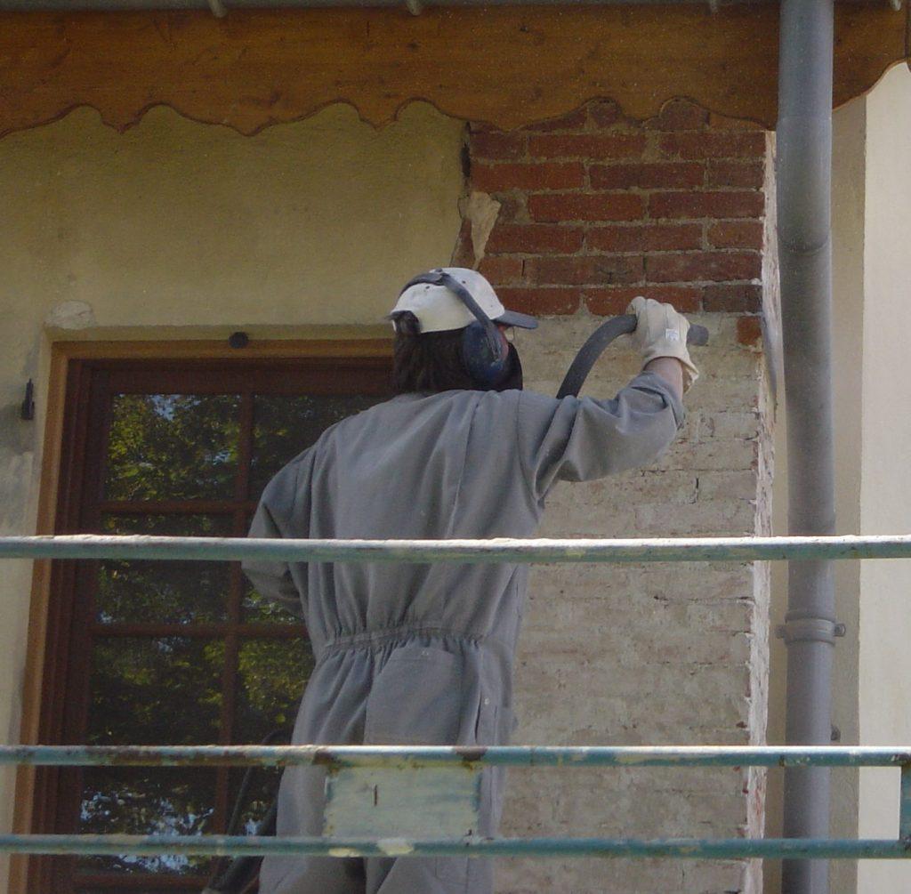 Nettoyage facade aerogommage decapage sablage hydrogommage, Aerotech66 Perpignan, Pyrenees Orientales 66