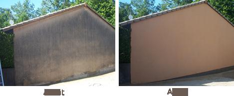 Nettoyage facade aerogommage decapage sablage hydrogommage, Aerotech66 Perpignan, Pyrénées-Orientales 66